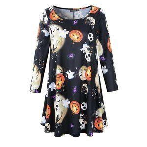Plus Size Halloween Tunic Top Size 20